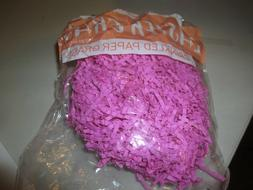 Crinkled paper easter basket grass 4 colors to choose from a