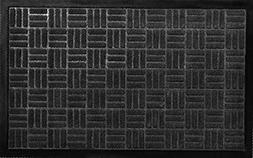 Criss-Cross Polypropylene Door Mat