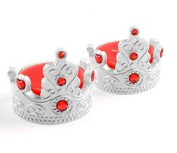 Crown Tealight Candles, G2PLAY 2 Tea Lights Holders Packs of