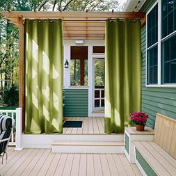 Outdoor Curtain Panel for Patio - NICETOWN Triple Weave Micr
