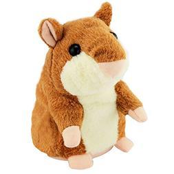 Powshop Cute Mimicry Pet Talking Hamster Repeats What you Sa