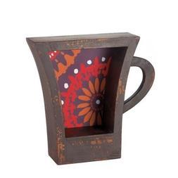 Accent Plus DARK COFFEE CUP SHELF