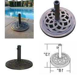 Dc America Ubp18181-Br 18-Inch Cast Stone Umbrella Base, Mad