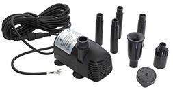 12-24V DC Brushless Submersible Water Pump, 400+GPH for DIY