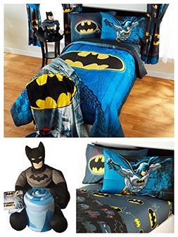 DC Comics Batman Kids Full Guardian Speed Bedding Set - Reve