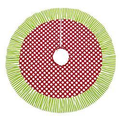 48 Inch Decorative Pattern Christmas Tree Skirt