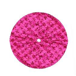 "Northlight 20"" Decorative Pink Sequin Snowflake Pattern Mini"