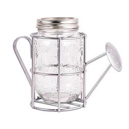 DII Decorative Watering Can Shaped Vase or Lantern Glass and