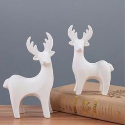 Deer Animal Garden Ornament Figurine Outdoor Decor Yard Coll