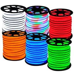 DELight 150ft LED Neon Rope Strip Light Wedding Mall Hotel P