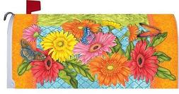DELIGHTFUL DAISIES WELCOME Custom Decor ALL WEATHER MAILBOX