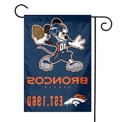 Dalean Denver Broncos Warm Garden Flags, Weather Resistant,