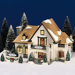 "Department 56 Original Snow Village ""Linden Hills Country Cl"