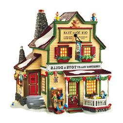 Department 56 Christmas Valley Toys and Dolls 30th Anniversa