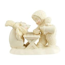 Snowbabies Department 56 Classics Bearly Awake Figurine, 3.5