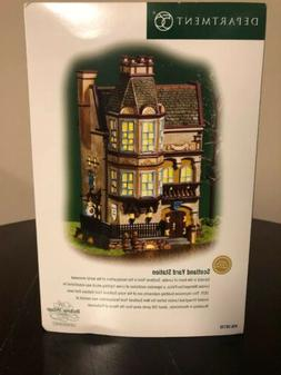 Dept. 56 2004 Dickens Village SCOTLAND YARD STATION *RETIRED