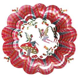Iron Stop Designer 3D Fairy Wind Spinner - D6031-10