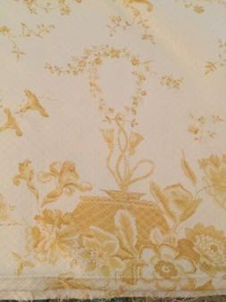 "Designer NINA CAMPBELL Fabric ""Cressida"" 2 Yards Floral Deco"