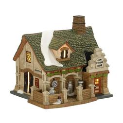 Department 56 Dickens Village Devonshire Creamery Lit House,