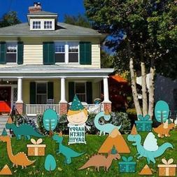 Dinosaur Birthday Yard Decoration - FREE SHIPPING