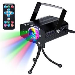 KingTop Disco Party Lights DJ Stage Led Strobe Lights with R