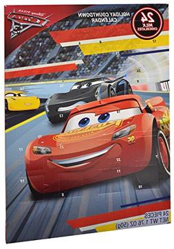 Disney Cars 3 Chocolate Advent Calendar with 24 Milk Chocola