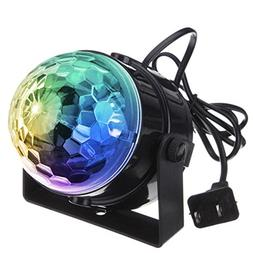 DJ light Sound Activated Party Lights Disco Ball - KINGSO St