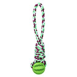 TAILMATE Dog Chew Rope Toys with Natural Rubber Ball for Tug