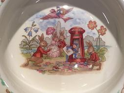 Bunnykins by Royal Doulton Baby Bowl Mail Man