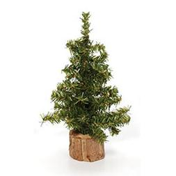 Darice DS-6257 8-Inch Canadian Pine Tree with Wood Base, Inc