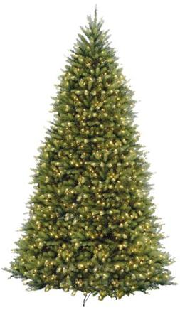 National Tree 10 Foot Dunhill Fir Tree with 1200 Clear Light