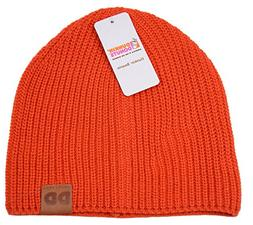 Dunkin Dounts Mens Womens Winter Beanie Hat DD Cap Dunks Ora