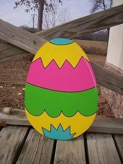 Easter Egg Eggs Yard Art Decoration -- 21 Designs to Choose