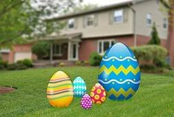 Aahs Engravings Easter Egg Yard Signs, Outdoor Decorations 5
