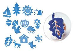 Colorations Easy-Grip Stampers, Seasonal - Set of 14