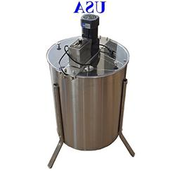 Electric 4 Frame 304 Stainless Steel Honey Extractor With St