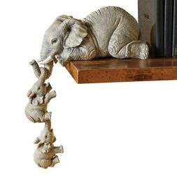 Elephant Sitter Figurines - Set of 3