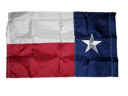 2x3 Embroidered Sewn State Of Texas Pole Sleeve 210D Solarma