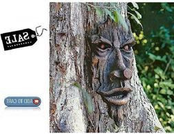 Enchanted Tree Forest Face Sculpture Art Decor Yard Garden P