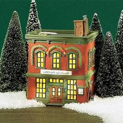 Department 56 New England Village Woodbridge Post Office