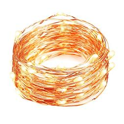 Mxsaver Fairy LED Copper Wire String Lights, Updated Version