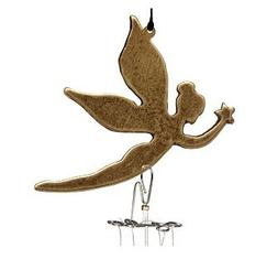 Fairy Faery Little Piper Wind Chime - Made in USA