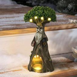 Fairy Garden Accessories Tree Figurine - Resin Statue with S