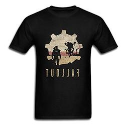 Bangie Fall Out 4 Gear Crazy Sales Black Men T-Shirts X-Larg