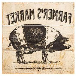 Farmer's Market Barnyard Animals Wall Décor Farmhouse Count