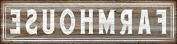 Barnyard Designs Farmhouse Retro Vintage Tin Bar Sign Countr