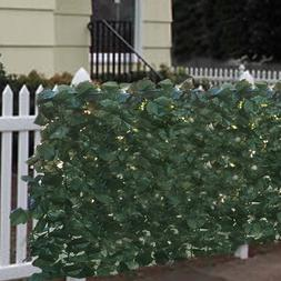 Faux Ivy Privacy Fence Screen 94 X 39 Artificial Hedge Fenci