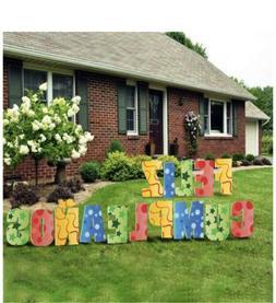 Feliz Cumpleanos Happy Birthday Lawn Sign. Yours to Keep!!