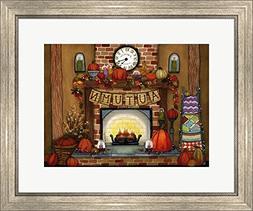 Fireside Glow by Jennifer Nilsson Framed Art Print Wall Pict