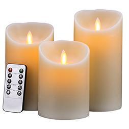 Flameless Candles, Super Long Battery Life 400 Hours Lightin